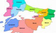 Marmara Bölgesinde Yer Alan İller Şehirler