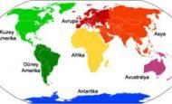 Dünyada Kaç Tane Kıta Vardır Ve İsimleri Nelerdir?