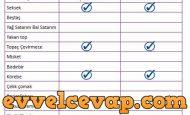 4. Sınıf Sosyal Bilgiler Şimdi Oyun Zamanı Cevapları Sayfa 42 43 44 45