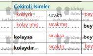 7. Sınıf Ez De Yayıncılık Türkçe Çalışma Kitabı Bundan Başka Dünya Yok Cevapları