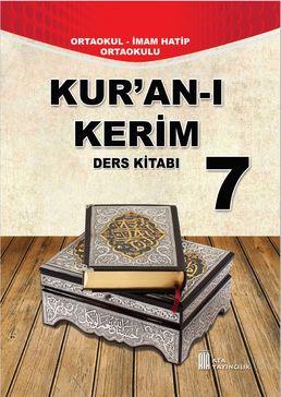7 Sınıf Kuranı Kerim Ders Kitabı Cevapları Ata Yayınları 2019